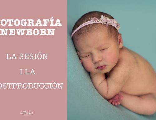 Producción de una sesión Newborn